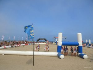 Gruissan Beach Rugby main stage